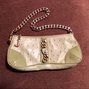Vintage Juicy Couture Green Ostrich Bag